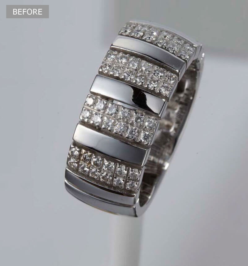 Jewelry Color Correction Services - Before