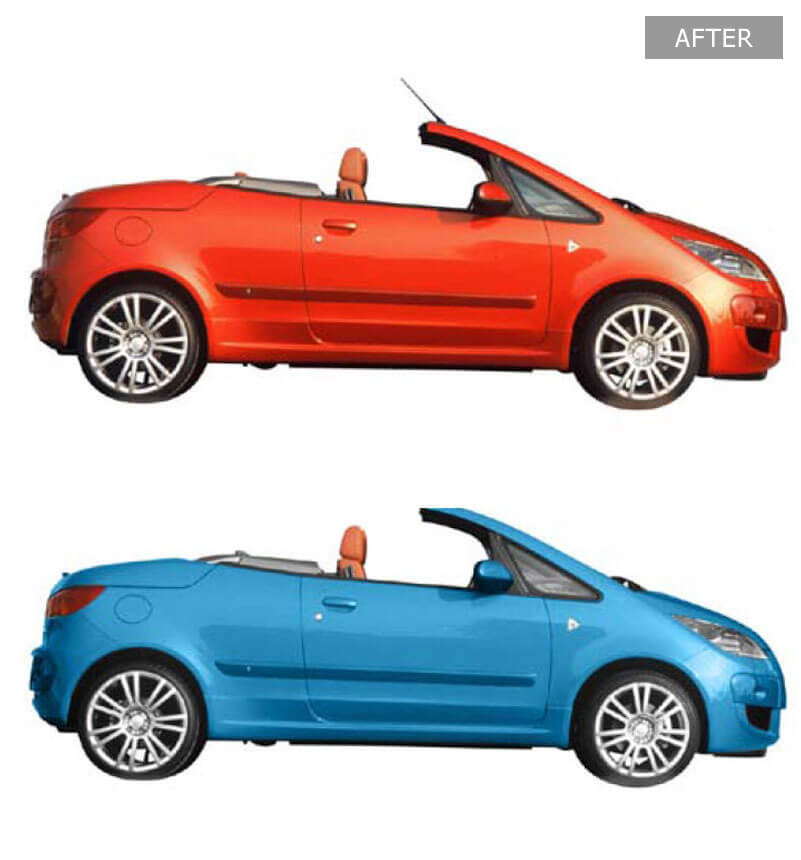 Automobile Photo Color Swapping - Before