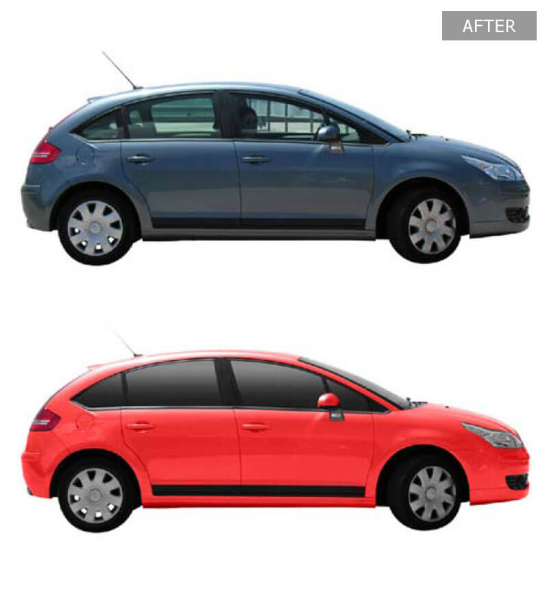 Automotive Photo Color Swapping - Before