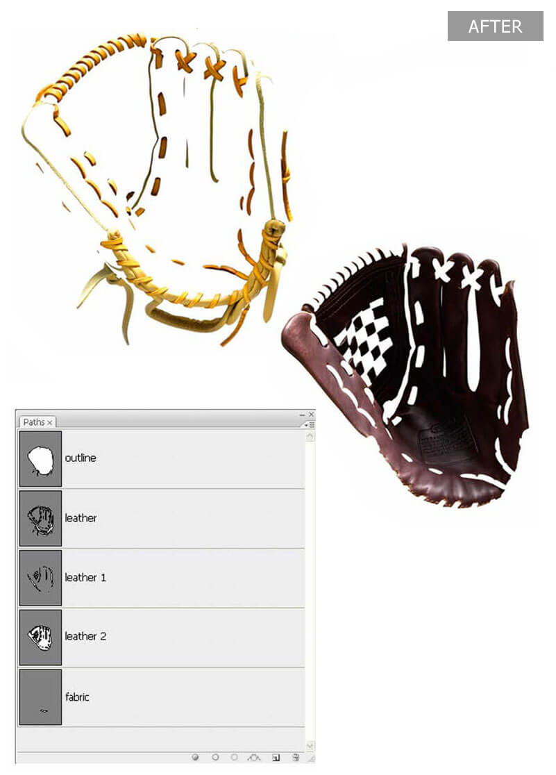 Sports Product Image Masking Services - After
