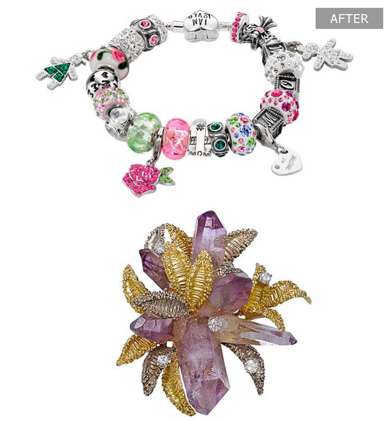 Jewelry Product Retouching Services - After